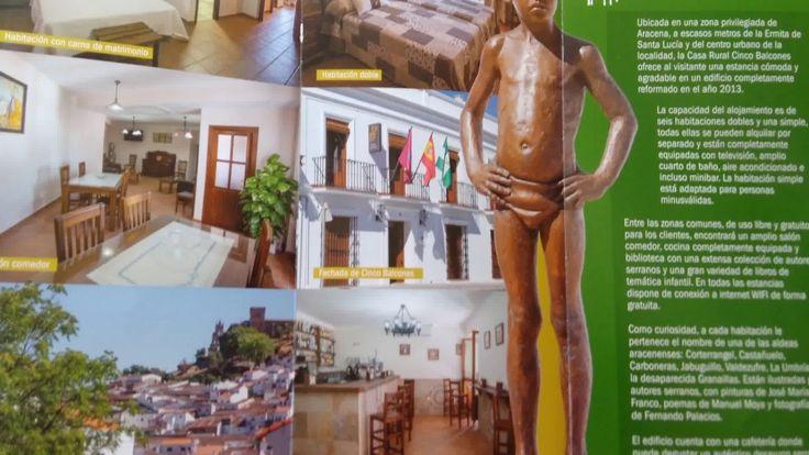 Casa Rural Cinco Balcones (Aracena, Huelva)