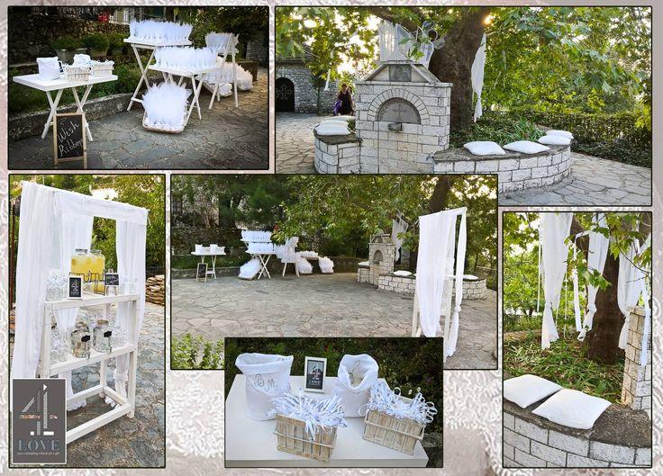 #Εlegant #γάμος στους Λιγκιάδες Ιωαννίνων- #διακόσμηση - #ανθοστολισμός #welcome_table #νυφική #ανθοδέσμη #4LOVEgr - Floral Artist Ντίνος Μαβίδης & Concept Stylist Μάνθα Μάντζιου