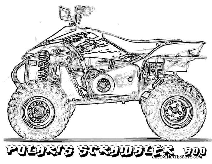 cool Cartoon Four Wheeler Drawing galleryhip com The