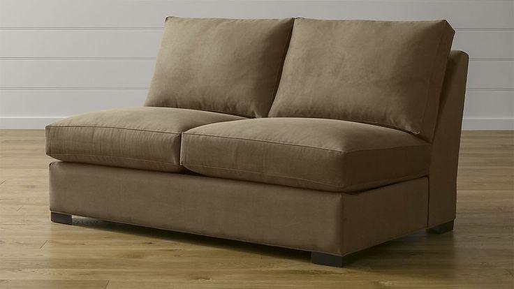 Axis II Armless Full Sleeper Sofa | Crate and Barrel