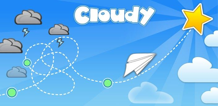 Cloudy is a funny and addictive puzzle game for Android users, where your main goal is to guide your plane without touching the clouds. http://en.softmonk.com/android/cloudy/