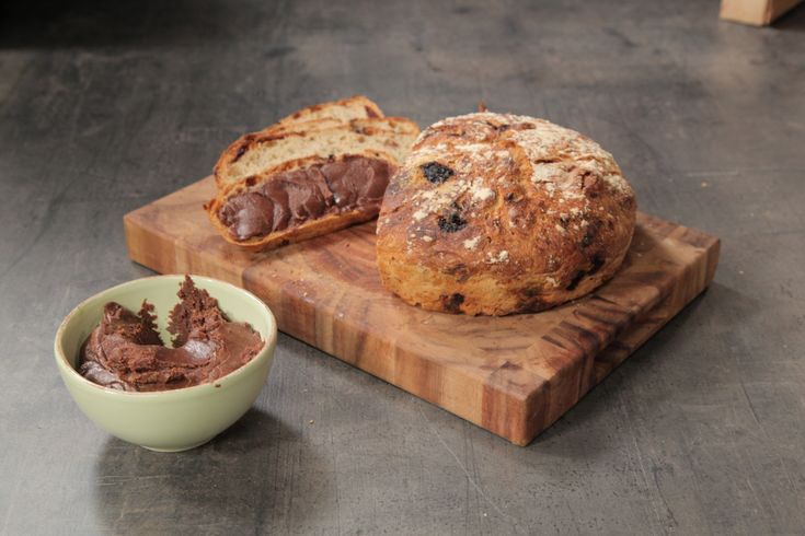 Idas sjokoladebrød med hjemmelaget nutella