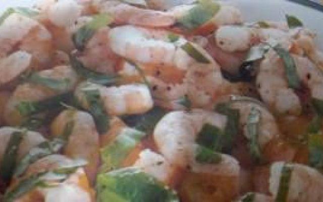 Ricette Pesce: Gamberetti alla rucola #ricettagamberettiallarucola;ricette