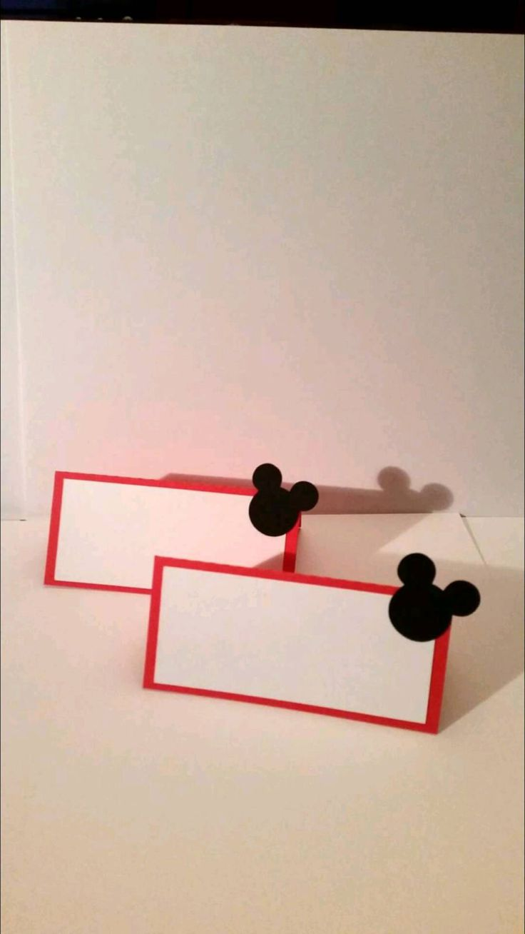 Mickey Mouse food tents. Mickey Mouse Birthday party. Mickey Birthday. Mickey Mouse Clubhouse by VannessasCreations on Etsy
