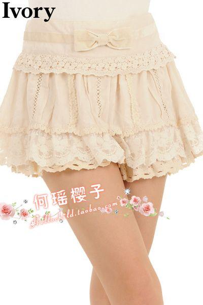 liz lisa style lace shorts