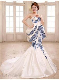 中国風の豪華な着心地最高のシルクロングドレス イブニングドレス