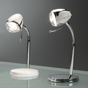 Elegant bordlampe GIASOL i retrostil sicher & bequem online bestellen bei Lampenwelt.de.