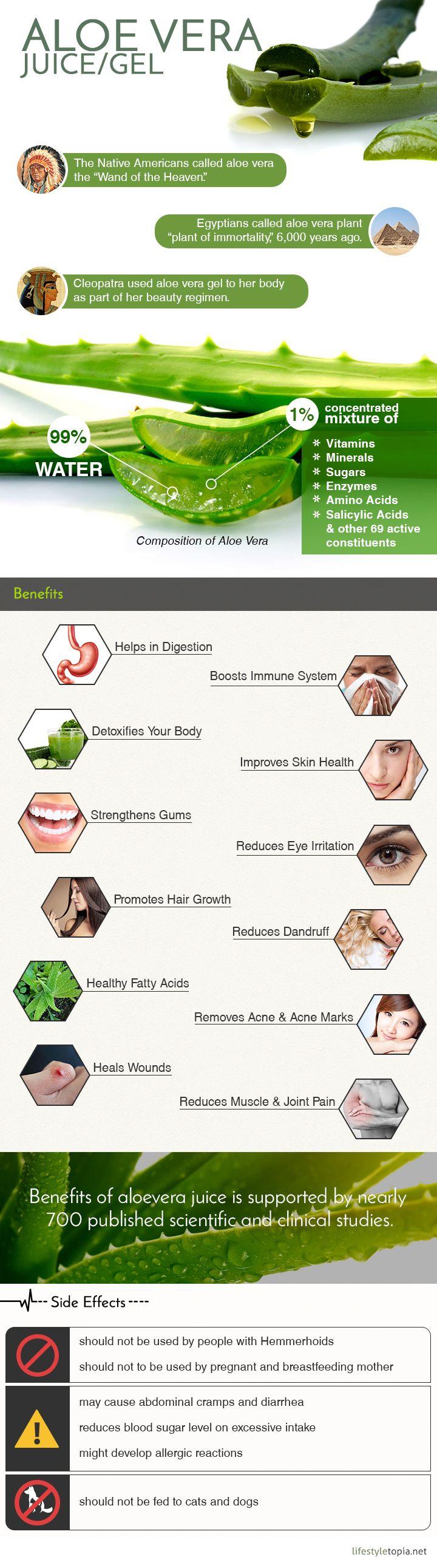 The Benefits Of Aloe Vera