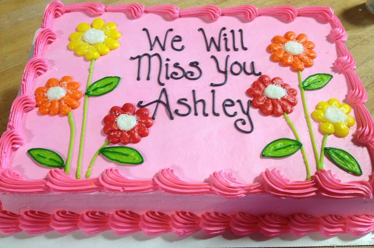 Going away cake | by Robin Schantz