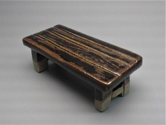 Awe Inspiring Fairy Furniture Miniature Ceramic Fairy Garden Bench Spiritservingveterans Wood Chair Design Ideas Spiritservingveteransorg