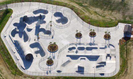 Lake Cunningham Regional Skate Park, California1