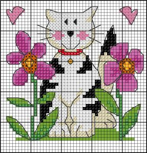 Small cross stitch patterns by Lesley Teare