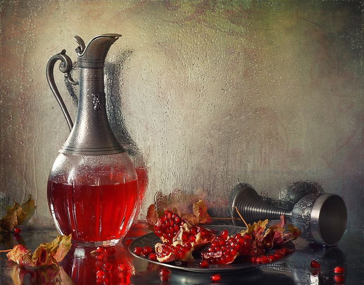 Гранатовый сок - still life натюрморт гранат гранатовый сок