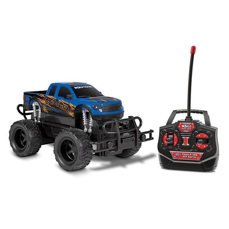World Tech Toys F-150 SVT Raptor 1:24 RTR Electric RC Monster Truck #MonsterTrucks