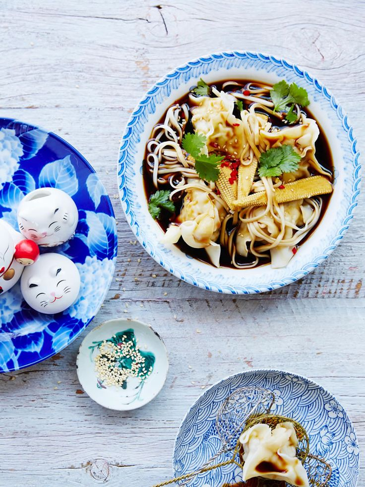 Chinese Master Stock Wonton Soup