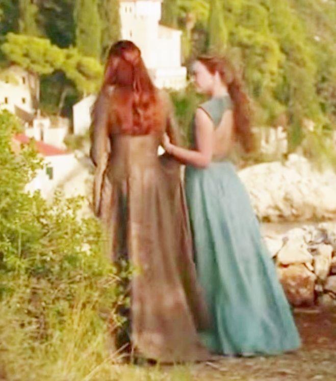 Margaery Tyrell Garden Dress Details - Imgur