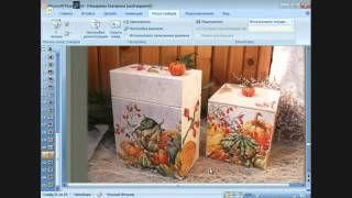 Ирина Комарова и Аля Ашмарина 19 день Университета Декупажа Апрельская сессия - YouTube