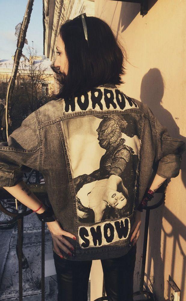 Image of Horror show custom jacket