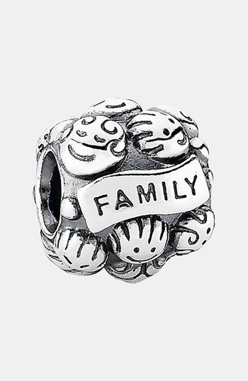 PANDORA 'Love & Family' Charm available at #Nordstrom- My husband got me this charm for Christmas
