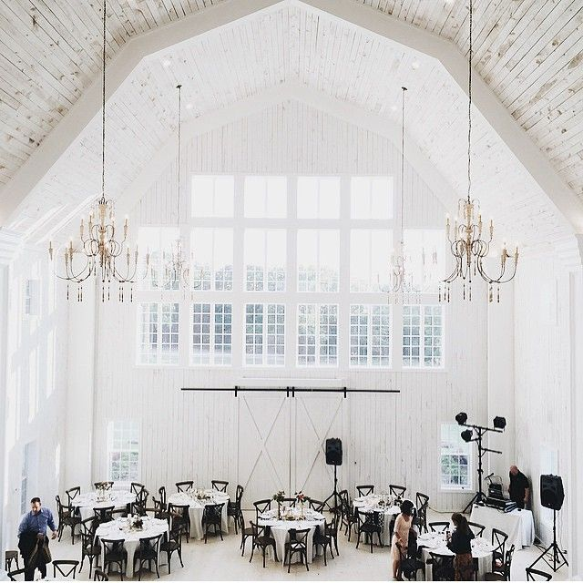 The White Sparrow is a new event & wedding venue in Texas. The 45ft tall barn is drenched in white inside and out, with natural wood floors and walls. It is 7200 sqft. of old world elegance and can seat up to 250 guests