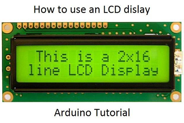 Picture of How to use an LCD display - Arduino Tutorial