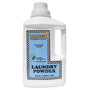 This laundry powder is the Best! It is Certified Chemical free and Biodegradable. AND it can be used as a stain remover!