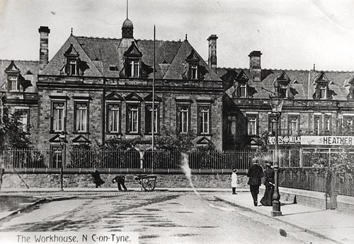 058329:The Workhouse Newcastle upon Tyne Unknown Undated.