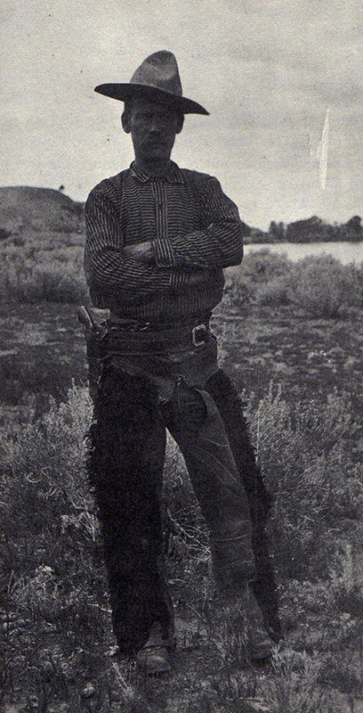 A Montana cowboy (1896).