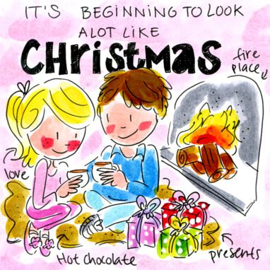 Blond Amsterdam kerstkaart