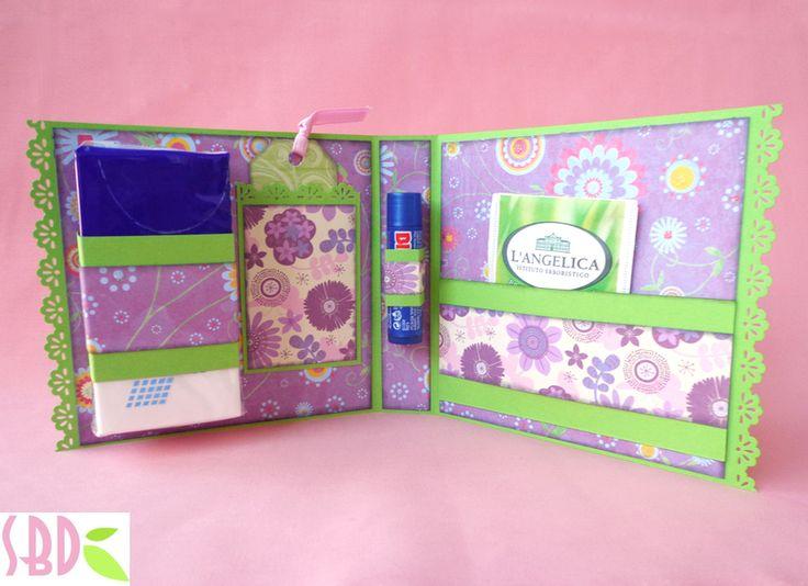 "Sweet Bio design: Kit ""Guarisci presto"" scrapbooking collab con Creazioni Topina - Scrap kit ""Get well soon"""