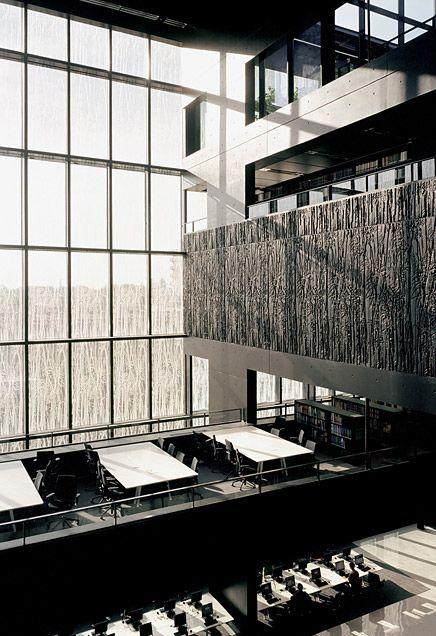 University Library UBU Utrecht By Wiel Arets Architects