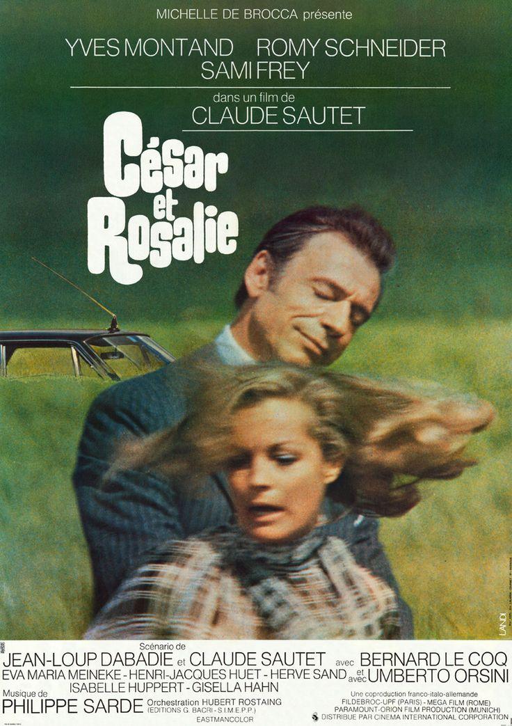 César et Rosalie est le sixième film français réalisé par Claude Sautet, cette comédie dramatique étant sortie en 1972. À Paris, Sète et le beau cadre de la plage de Noirmoutier, un « ménage à trois », avec César, un parvenu hâbleur mais généreux, David, un artiste effacé assez intellectuel qui se régale de la vulnérabilité de son confident, et une Rosalie bovarienne,