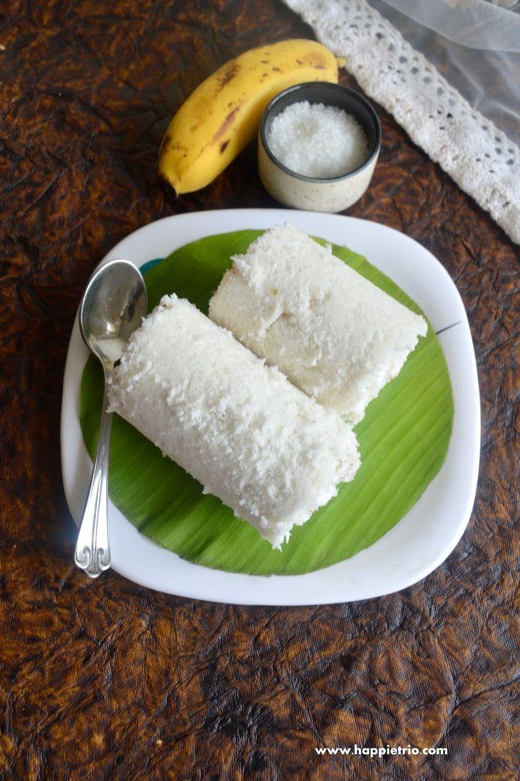 Kerala Puttu Recipe | How to make Soft Rice Flour Puttu | Steamed Rice Flour Cake | Kuzha Puttu Recipe