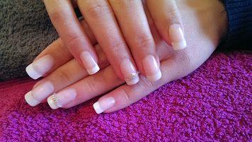 french manicure, gel