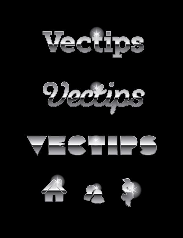 Create an editable metal text effect using the Appearance Panel in Adobe Illustrator.  tutorial