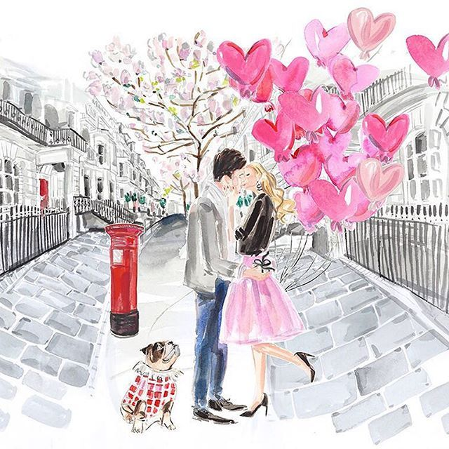 Infinite Love: A whimsical, feminine celebration of love illustrated by @marnanidesign for @linksoflondon #fashion #figure #people #campaign #artwork #promotion #nature #loose #narrative #story #love #London #couple  #celebration http://ow.ly/8hVr308lccZ