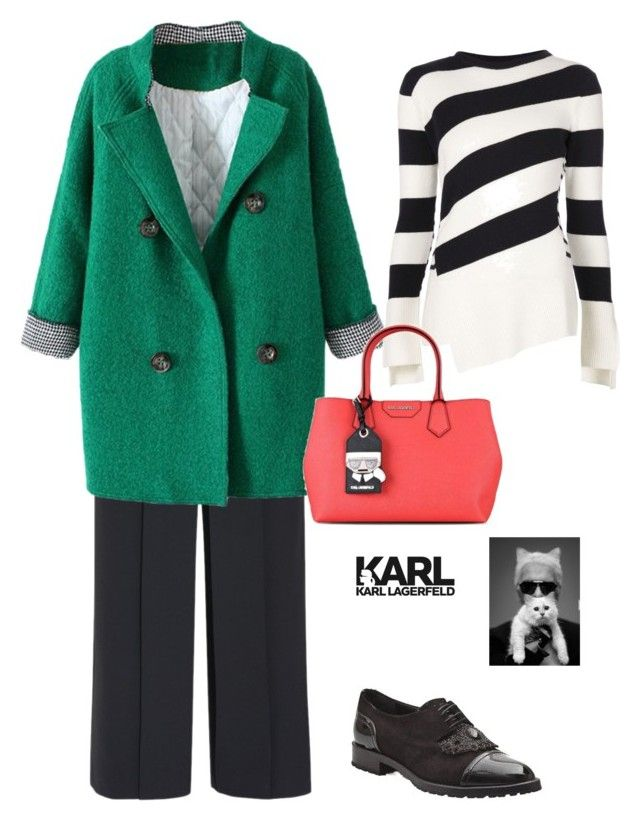 """""""Untitled #87"""" by i-teddybear on Polyvore featuring мода, Alexander Wang, Alexander McQueen и Karl Lagerfeld"""