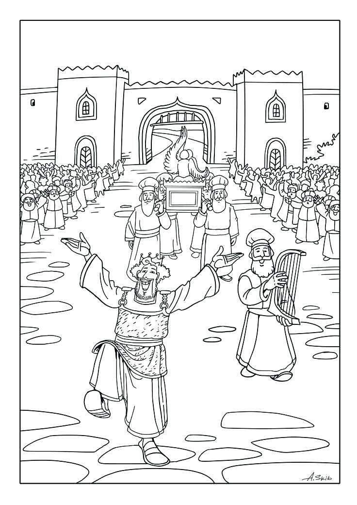 Free Coloring Pages Ark Of The Covenant Church Ideas Scuola
