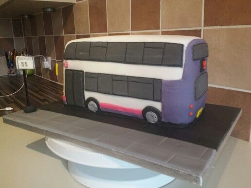 First bus cake
