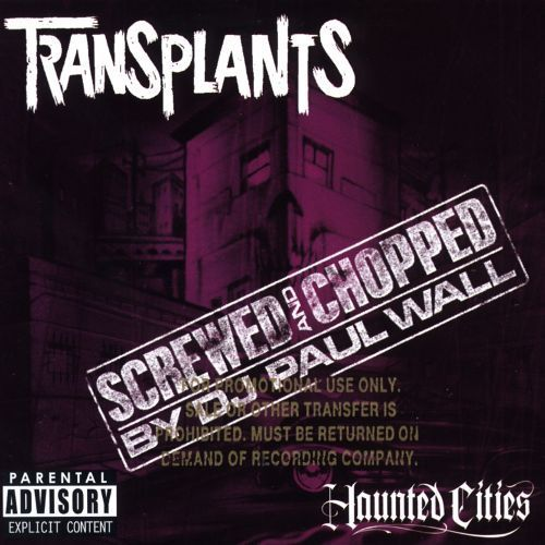 Haunted Cities [Chopped & Screwed By DJ Paul Wall] [CD] [PA]