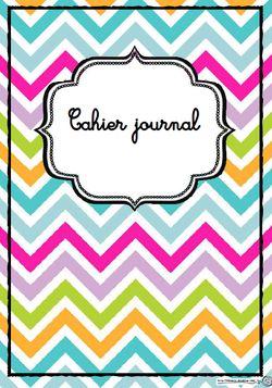 Pages, gerde, cahier journal, enseignant, école, classe