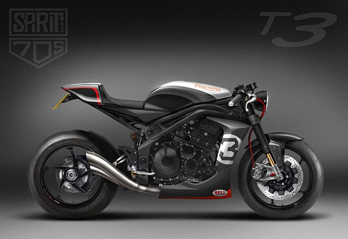 These Limited Edition Triumph Triples Are Built By Racers And It Shows