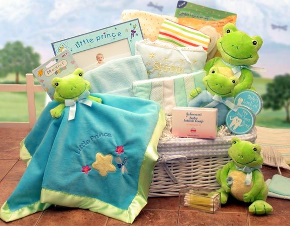 Great for that special newborn gift! Look at my website at www.forgetmenotgiftshop.labellabaskets.com