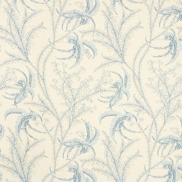 Ocean Toile | 176990 in Delft | Schumacher Fabrics