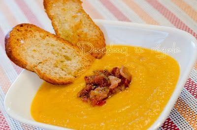 Potage aux carottes et chou-fleur   Doumdoum se régale