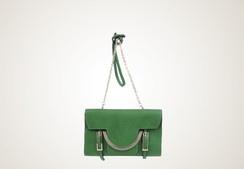 COCCINELLE - Celeste clutch (green version) love it!!!