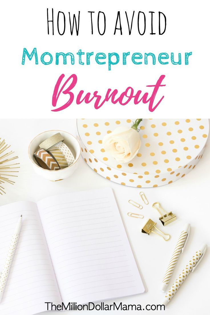 As momtrepreneurs, it can often feel like we're getting pulled in so many different directions. We're hustling, making things happen, and making money, but with so much going on, we can start feeling run down and burnt out.
