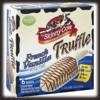 Skinny Cow Truffle Bars - Low Calorie Ice Cream Treats - 2 Point Total - LaaLoosh