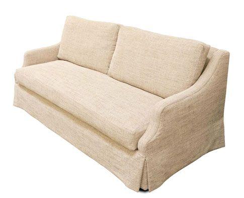 The Taylor Scott Harrison Sofa Is Subtly Feminine And Classy.