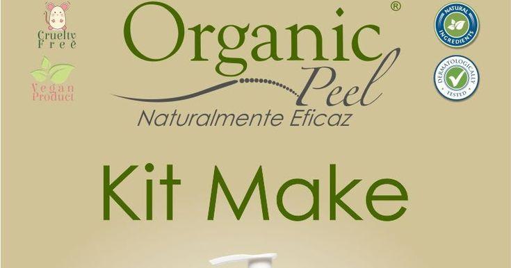 Kit Make Organic Peel - A Organic Peel possui um sistema de produtos que aplicados simultaneamente proporcionam um tratamento natural de extrema eficácia para sua pele. Todos os produtos Organic Peel são livres de BENZOFENONA e PARABENO. Os nossos produtos são totalmente orgânicos e preparados exclusivamente com Ervas Nacionais e Importadas. Por serem produtos Naturais, não têm contra indicações, não causam alergias e podem ser aplicados em qualquer tipo de pele...